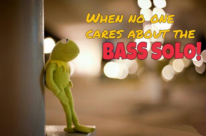 Kermit bass solo