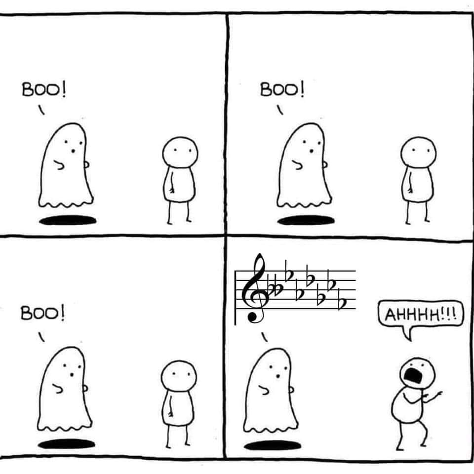 How to scare a musician
