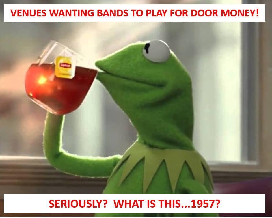 Kermit door money