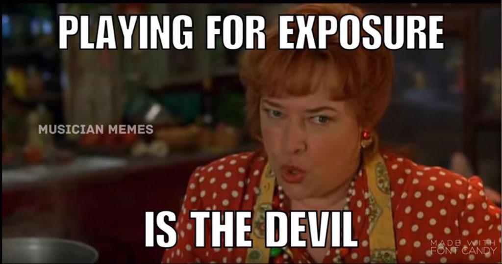 Exposure is the devil