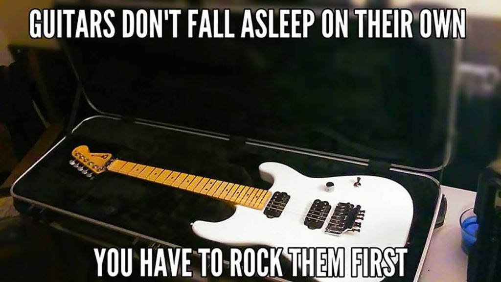 Rock your guitar