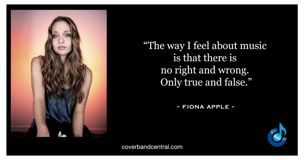 Fiona Apple Quote