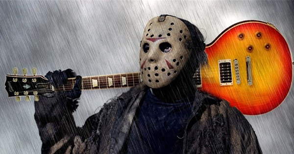 Friday the 13th Jason Guitar