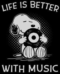 Snoopy life music
