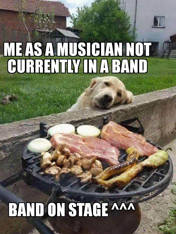 Me as a musician