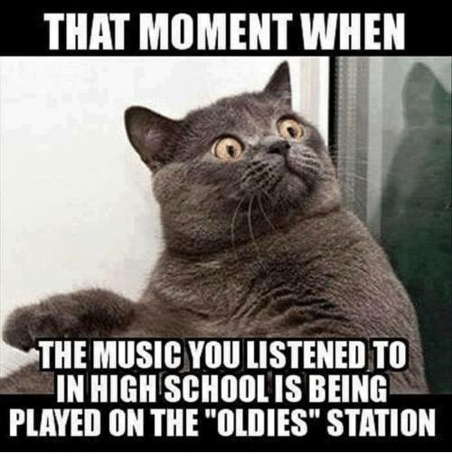 Oldies cat