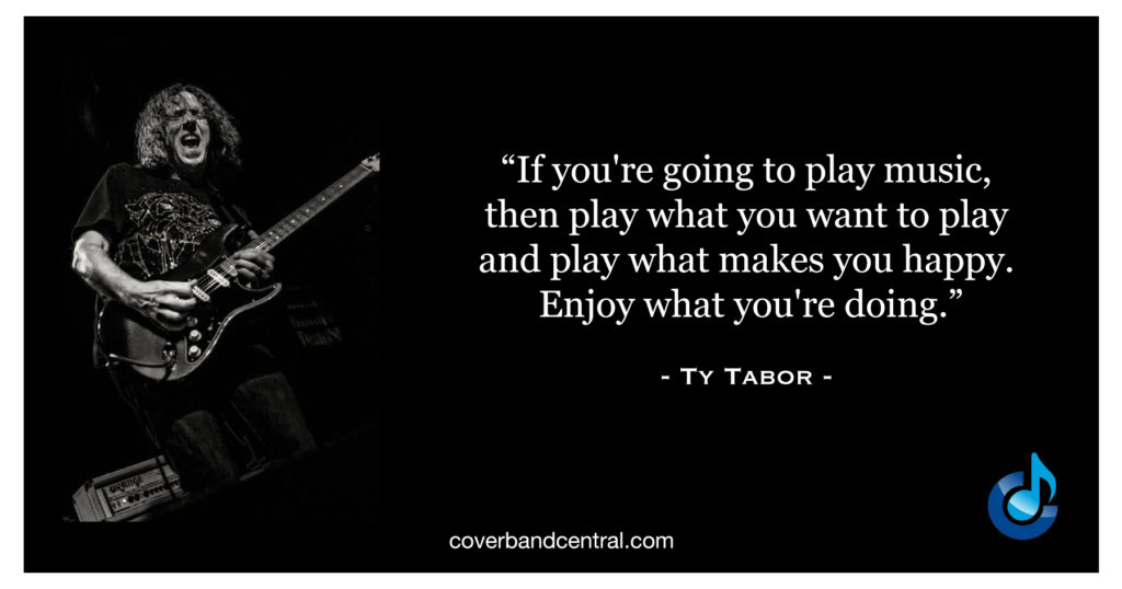 Ty Tabor Quote