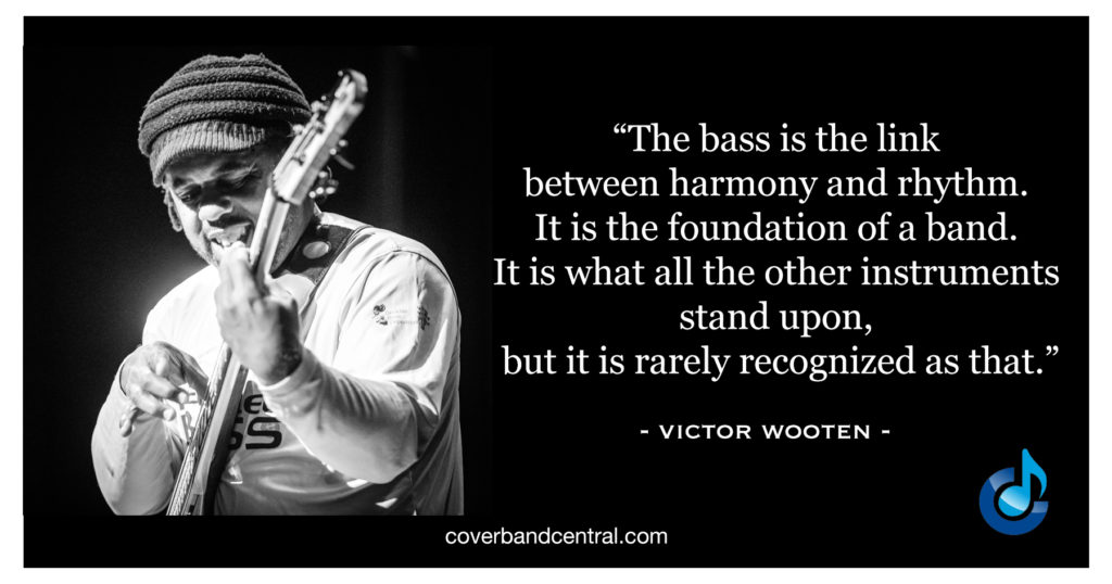 Victor Wooten Quote