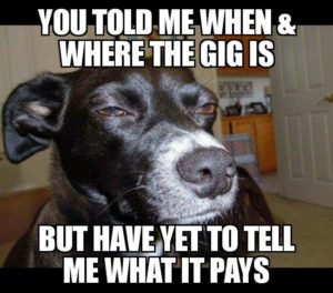 What does gig pay