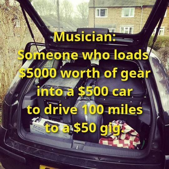 Musicians woes