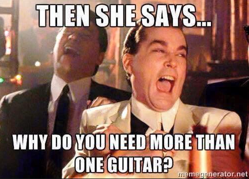 Why do you need more than one guitar