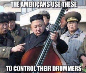 Control the drummer