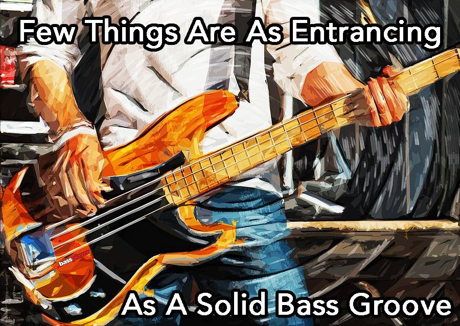 Solid bass groove