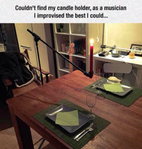 Couldn't find candle holder