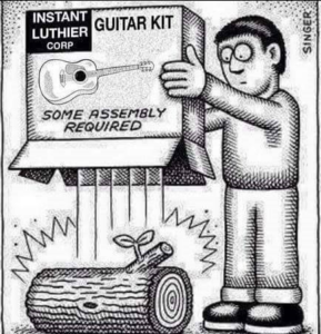 Home guitar kit