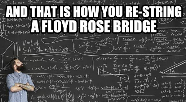 String a floyd rose