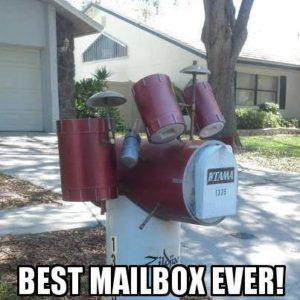 Drum mailbox