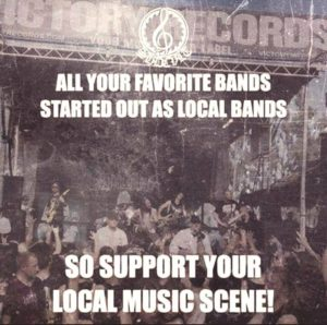 Support your local music scene