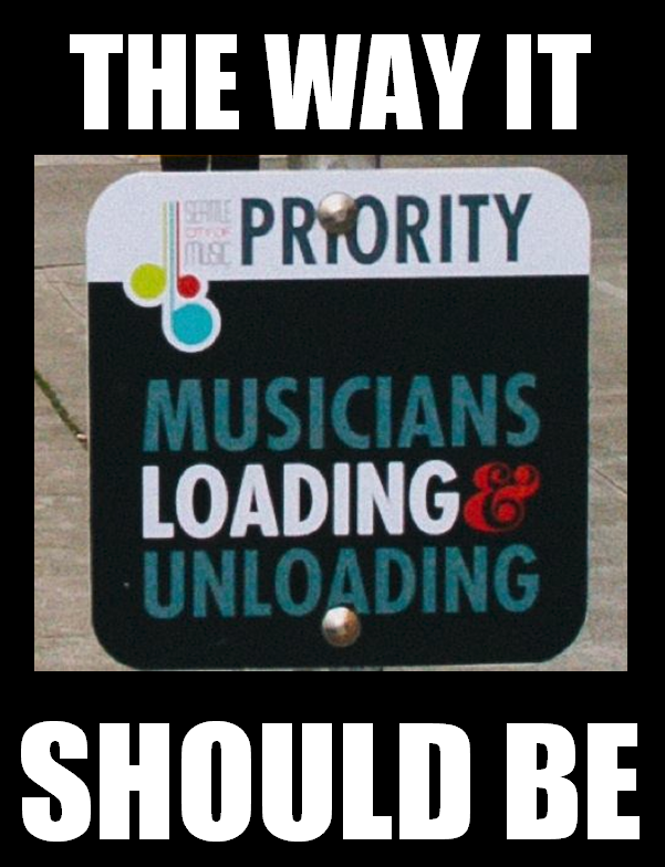 Priority parking