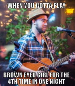 Play Brown Eyed Girl