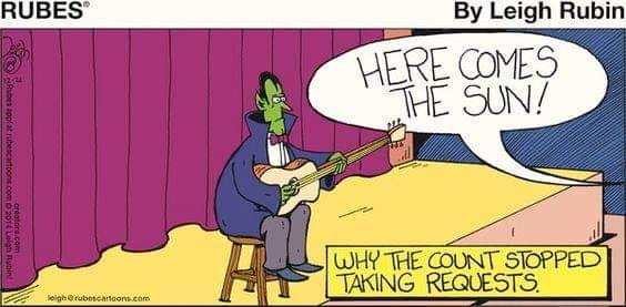Why the count stopped taking requests