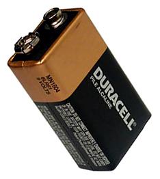 9-volt battery