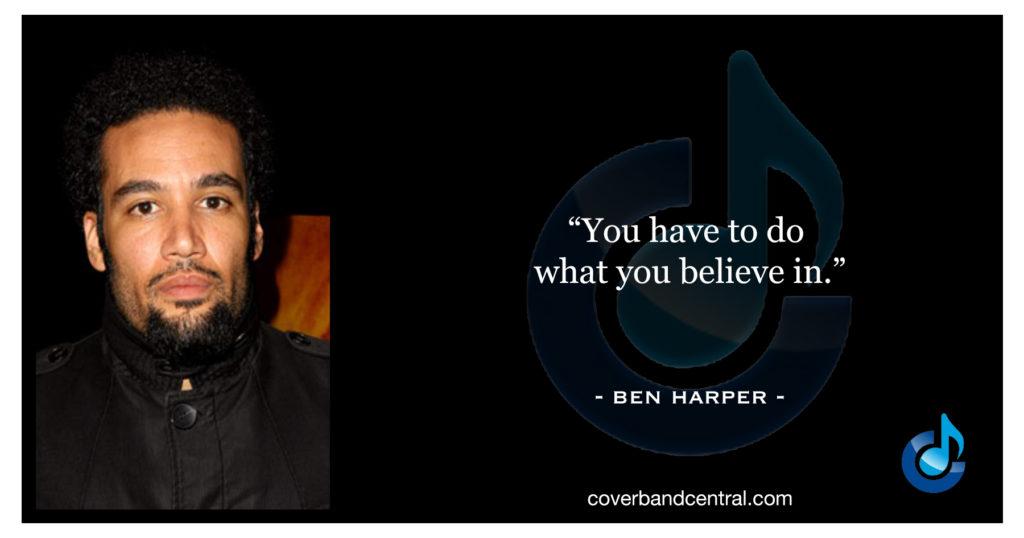 Ben Harper quote