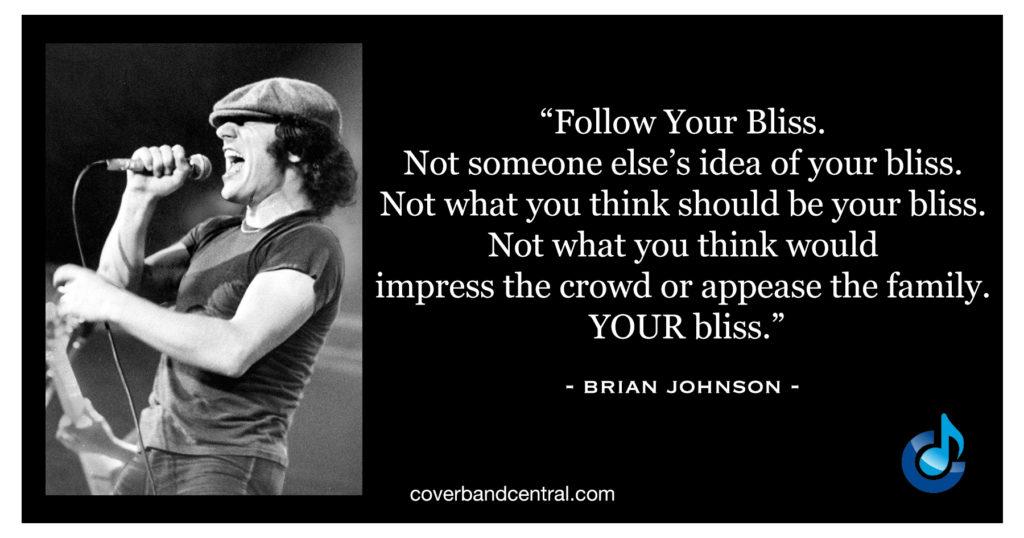 Brian Johnson quote