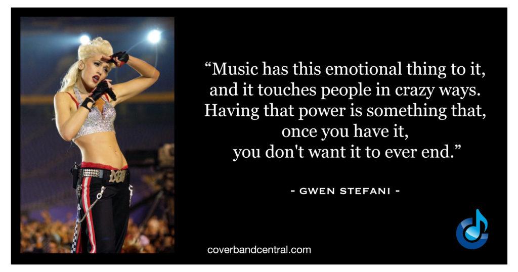 Gwen Stefani Quote