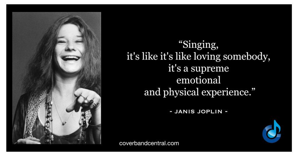 Janis Joplin quote