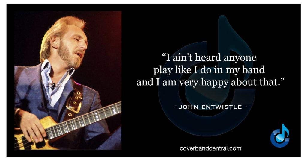 John Entwistle quote