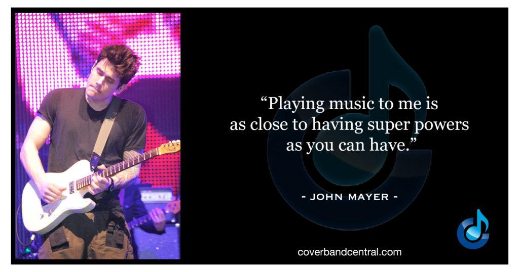 John Mayer quote