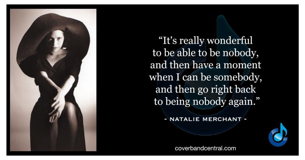 Natalie Merchant quote