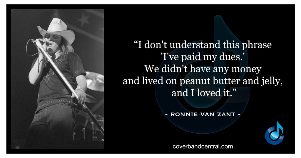 Ronnie Van Zant quote