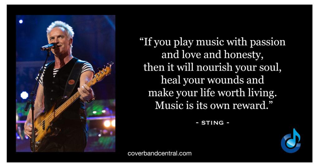 Sting quote