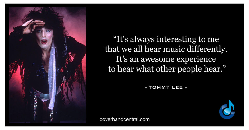 Tommy Lee Quote