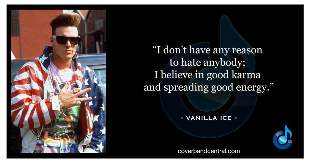 Vanilla Ice quote