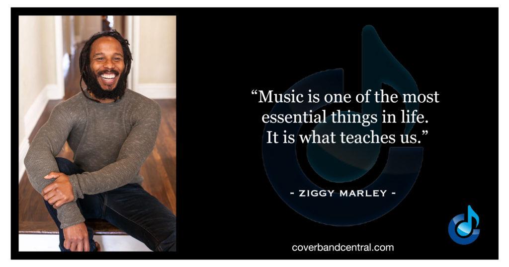 Ziggy Marley quote