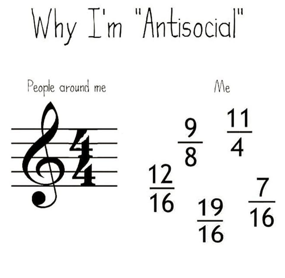 Why I'm Antisocial