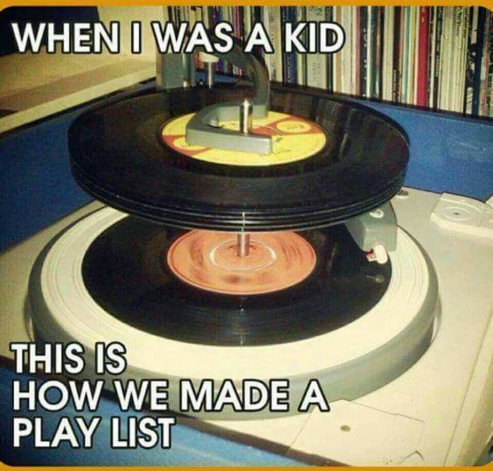 45 records were our playlist