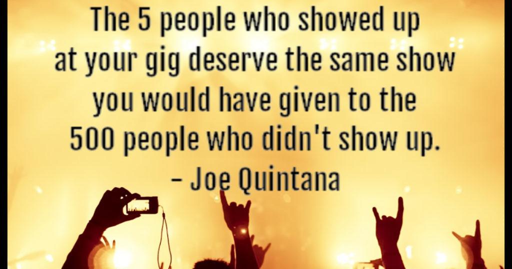 Everyone deserves the same show