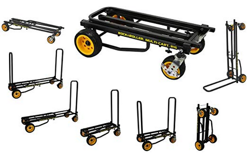 Musical equipment cart