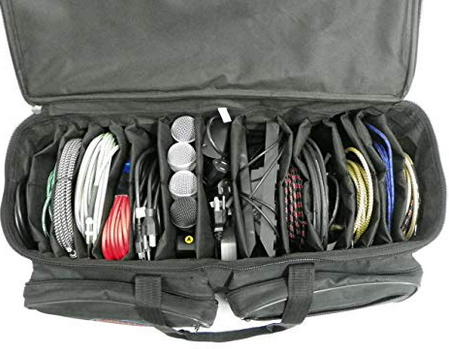 Storage bag for gigging musicians