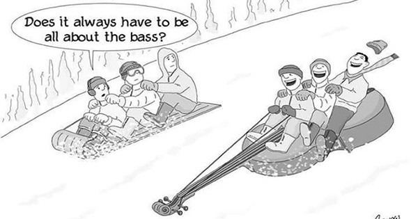 All about that bass sled