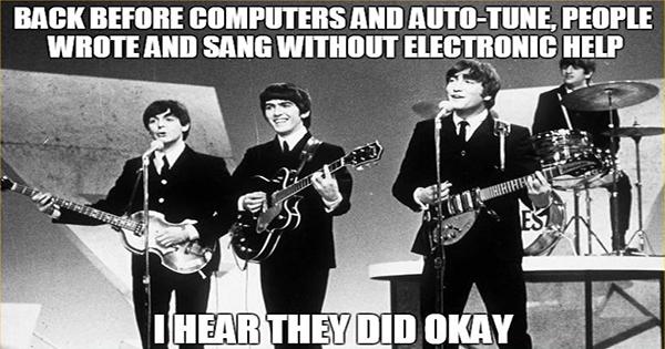 The Beatles did okay