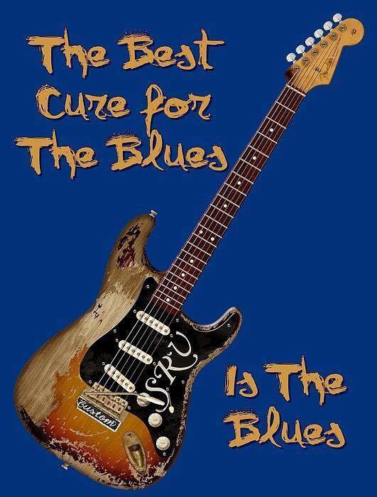 The cure for the blues is the blues