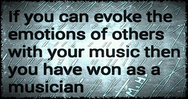 Evoke emotions with music