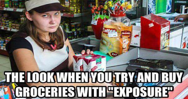 Exposure groceries