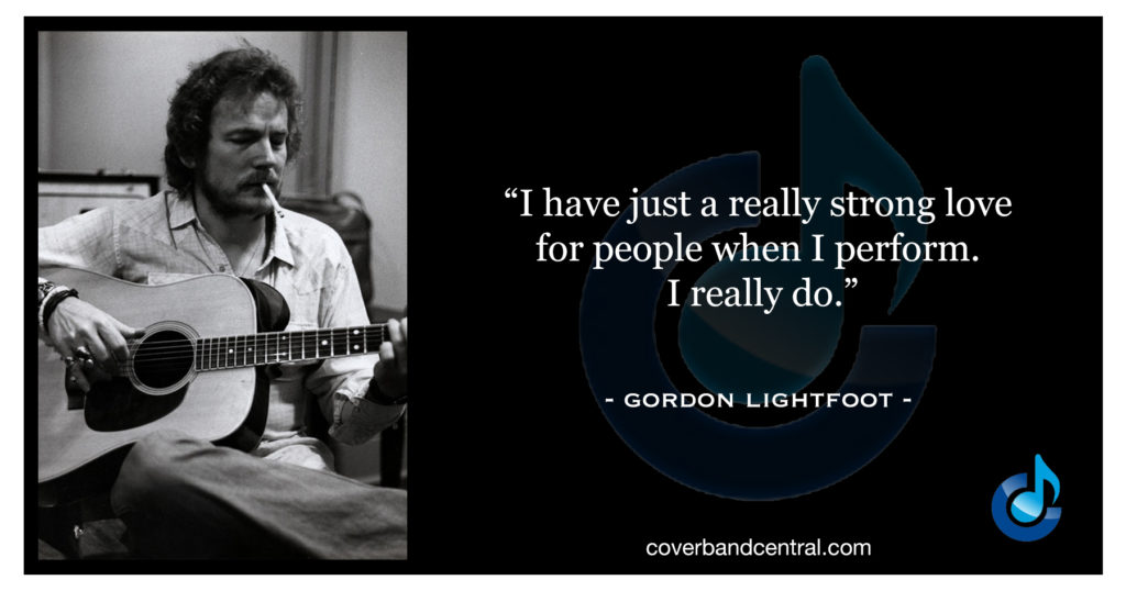 Gordon Lightfoot quote