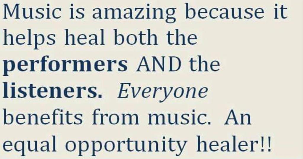 Music is amazing